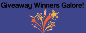 Giveaway Winners Galore