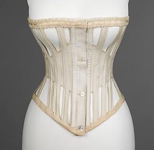 Whalebone corset